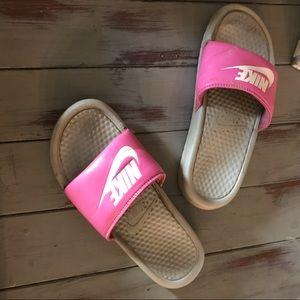 Nike Slide shoes size 7